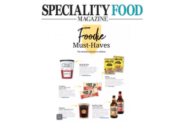 coverage in Speciality Food Magazine, 1 May 2021