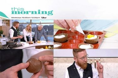 Paul A Young Fine Chocolates coverage in ITV This Morning, 23 March 2016