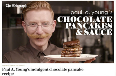 Paul A Young Fine Chocolates coverage in Telegraph Food, 27 February 2017