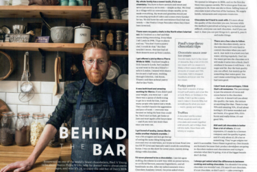 Paul A Young Fine Chocolates coverage in National Geographic Food , 1 December 2017