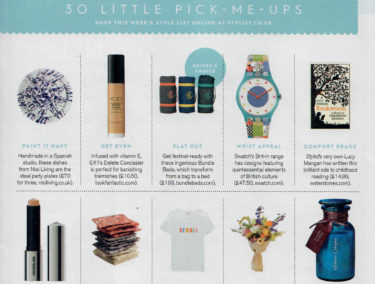 coverage in Stylist Magazine, 28 February 2018