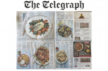 coverage in The Telegraph , 18 September 2021