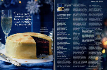 Guittard Chocolate Company coverage in Woman & Home, 10 November 2017