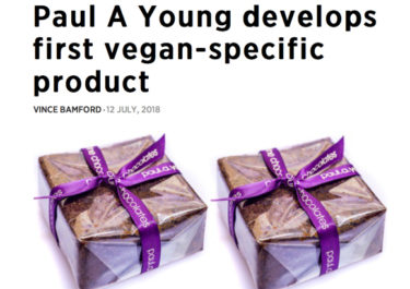 Paul A Young Fine Chocolates coverage in British Baker, 12 July 2018