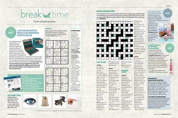 Bake Box  coverage in Townswoman Magazine, 19 December 2016