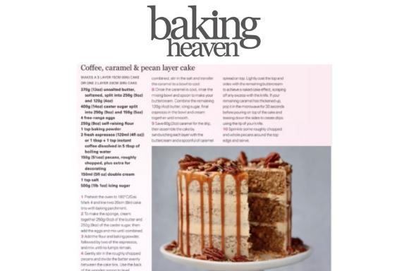 UK Flour Millers coverage in Baking Heaven, 19 April 2021