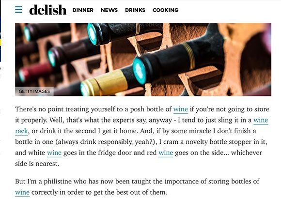Learning with Experts coverage in delish, 21 September 2020