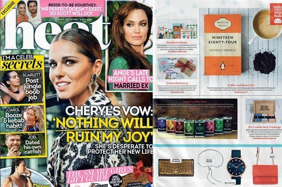 Pomora coverage in HEAT MAGAZINE, 30 November 2016