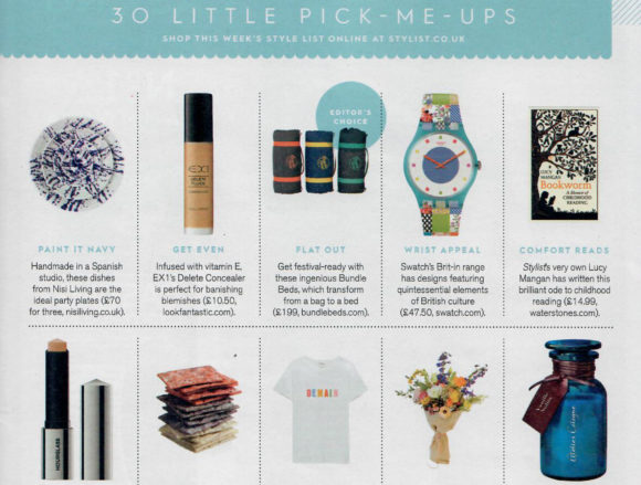 Sprouted Genius coverage in Stylist Magazine, 19 March 2018