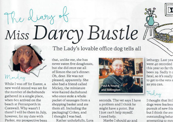 Paul A Young Fine Chocolates coverage in The Lady, 13 June 2018