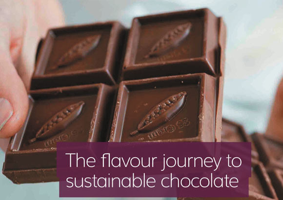 Guittard Chocolate Company coverage in New Food Magazine, 12 July 2019