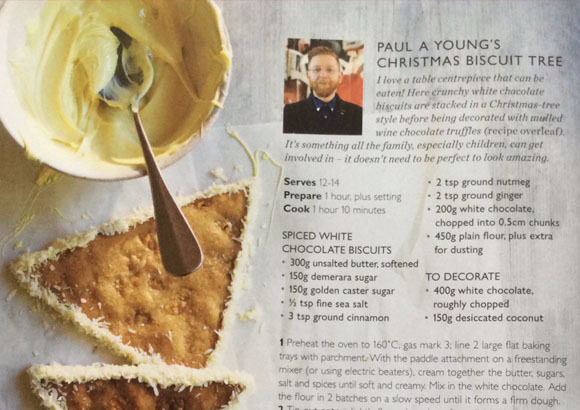 Paul A Young Fine Chocolates coverage in Waitrose Magazine, 12 July 2019