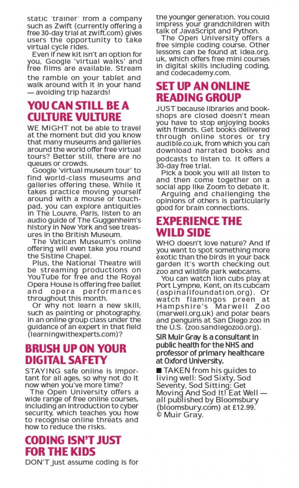 Coverage for Learning with Experts in The Daily Mail, 2020-04-03