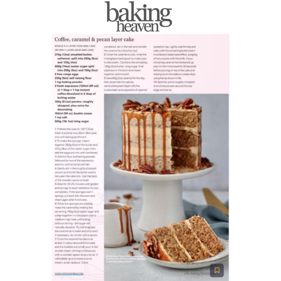 Coverage for UK Flour Millers in Baking Heaven, 2021-04-01