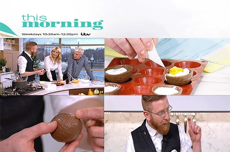 Coverage for Paul A Young Fine Chocolates in ITV This Morning, 2016-03-23