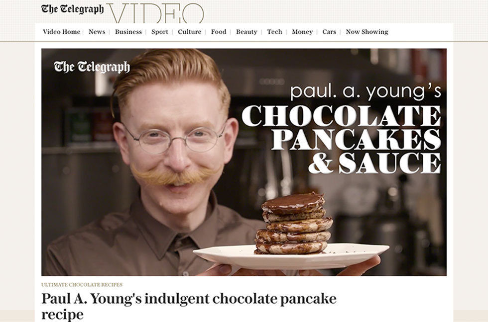Coverage for Paul A Young Fine Chocolates in Telegraph Food, 2017-02-27