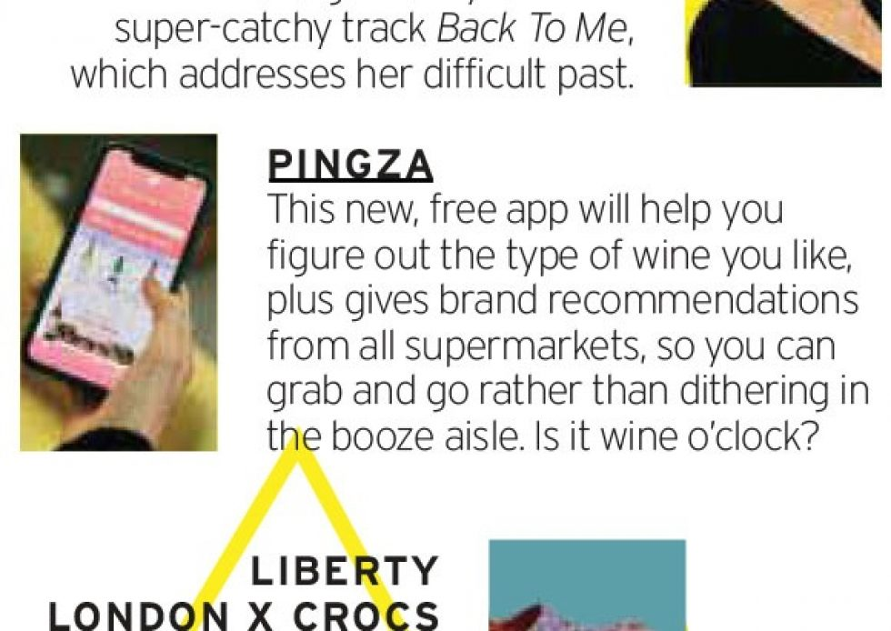 Coverage for Pingza in Fabulous Magazine, 2020-04-19