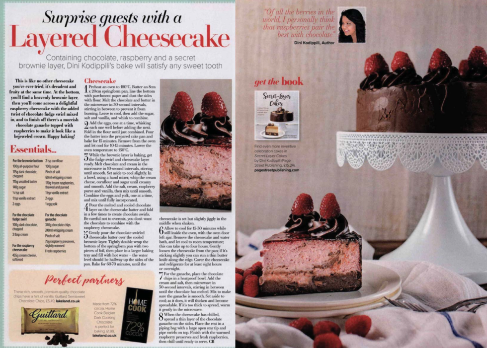 Coverage for Guittard Chocolate Company in Crafts Beautiful, 2018-03-01